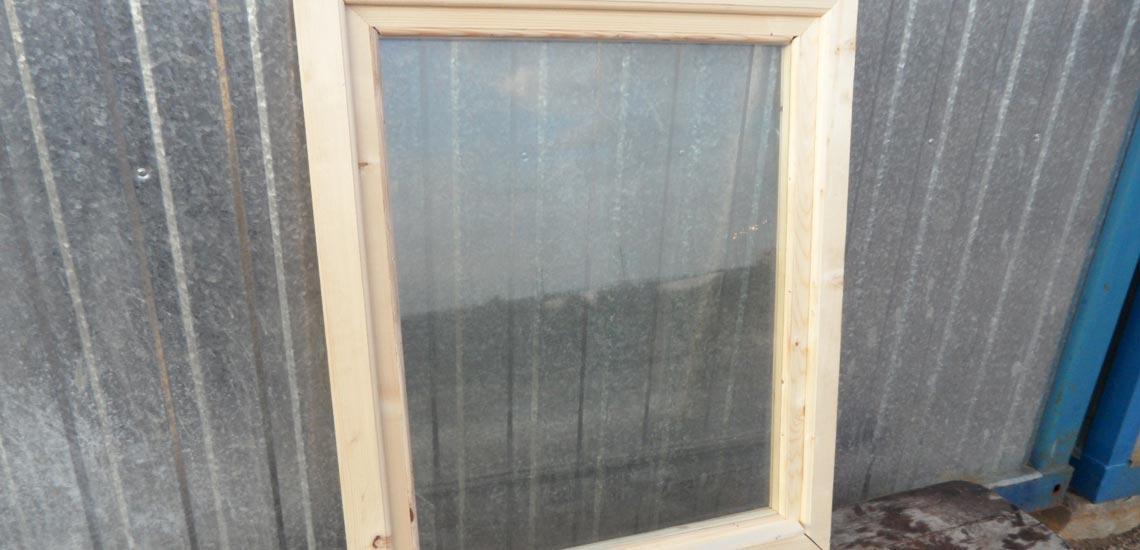 окно бытовки