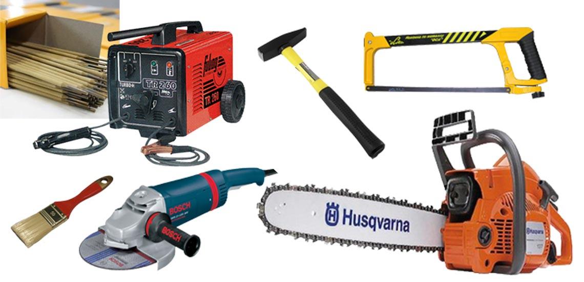 инструменты для сборки бытовки