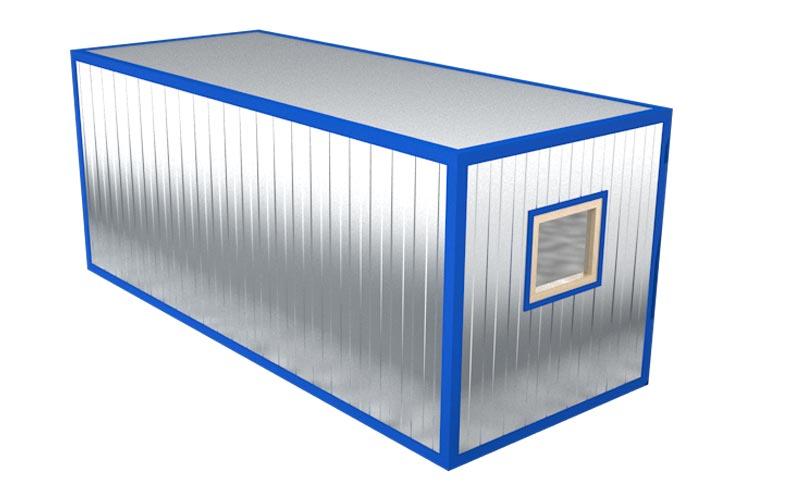 Блок-контейнер БК-001 (вид на окно)