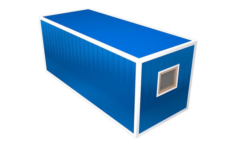Блок-контейнер БК-02 (вид на окно)